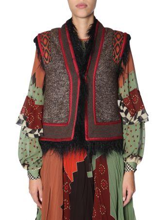 Etro Embroidered Waistcoat
