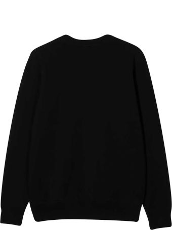Moschino Black Teen Sweatshirt
