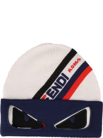 32ea63862d2 Fendi Ff Fendi Roma Knit Hat