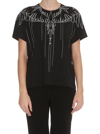 Marcelo Burlon Stitching Wings T-shirt