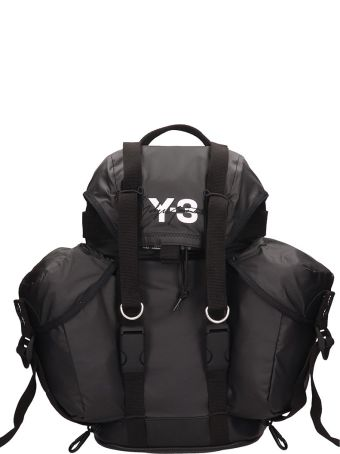 Y-3 Black Technical Fabric Xs Utility Backpack