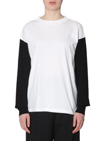 MM6 Maison Margiela T-shirt With Long Sleeves