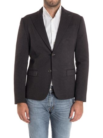Alessandro Dell'Acqua Viscose Blend Jacket