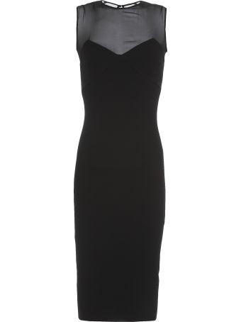 Victoria Beckham Plain Color Pencil Dress