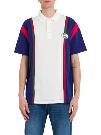 Gucci Polo With Interlocking G Patch