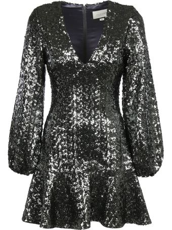 Alexis Sequined Skater Dress