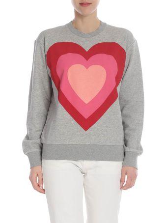 Paul Smith Heart Print Sweatshirt