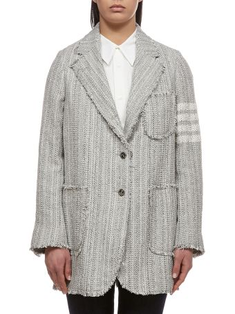 Thom Browne Tweed Sack Jacket