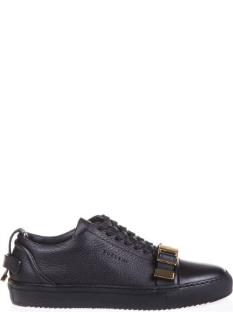 Buscemi Grained Leather Low-top Sneakers