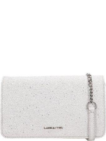 Lancaster Paris Silver Glitter Actual Shiny Bag