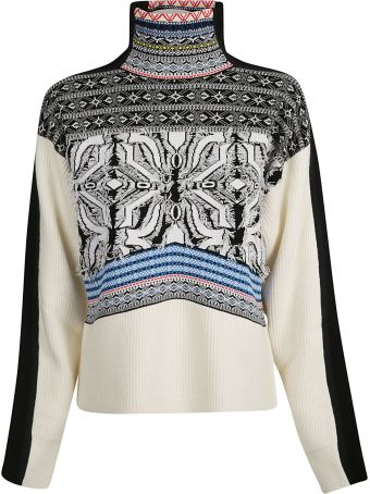 SportMax Geometric Pattern Sweater