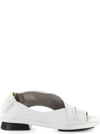 IXOS Silene Chalk-colored Flat Sandal