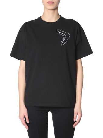 Riccardo Comi Fuck Off  Embroidered T-shirt