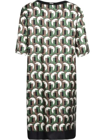 Max Mara The Cube T-shirt Printed Dress