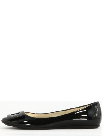 Roger Vivier Gommette In Patent Leather