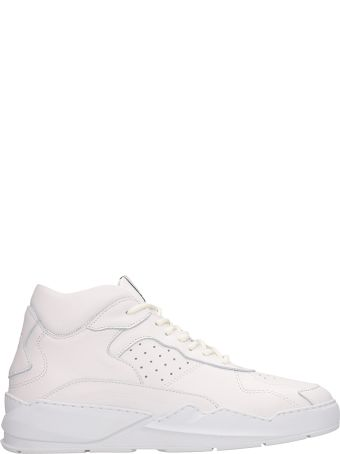 Filling Pieces White Leather Lay Up Ices Sneakers