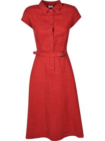 Aspesi Belted Shirt Dress