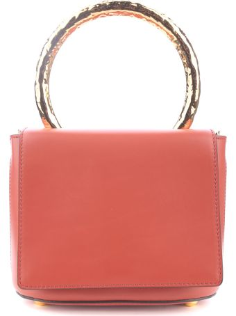 Marni Pannier Small Leather Shoulder Bag
