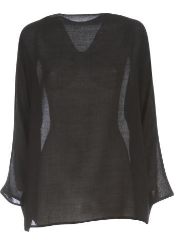 Daniela Gregis Lunedi` Cimosa 100% Wool Crepe  Shirt
