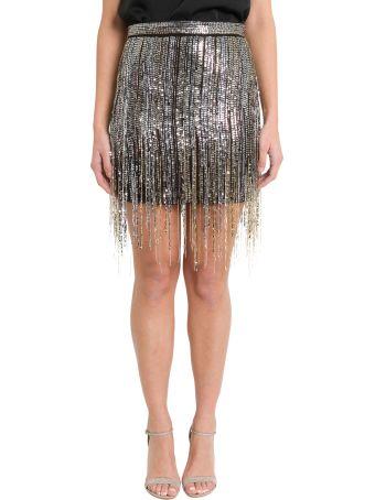Amen Golden Sequins Skirt