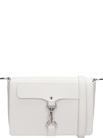 Rebecca Minkoff White Leather Bag