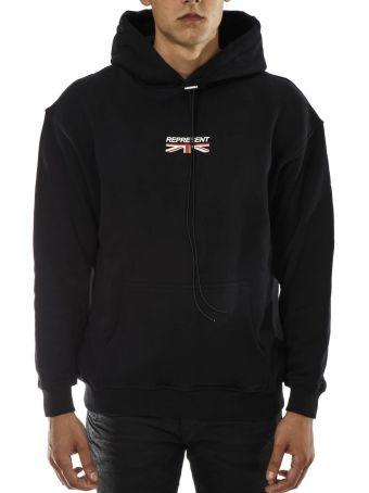 REPRESENT Represent Black And Cotton Sweatshirt
