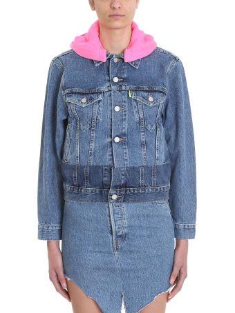 VETEMENTS Blue Denim Jacket