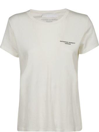 Katharine Hamnett Katharine Hamnet London Chest Logo Print T-shirt