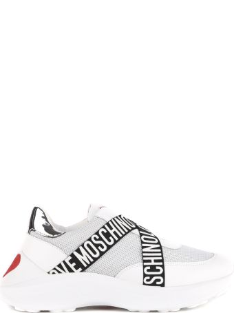 Love Moschino White Love Moschino Ecoleather Sneaker