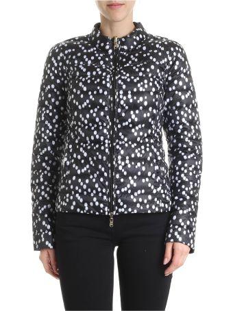Patrizia Pepe Reversible Nylon Down Jacket