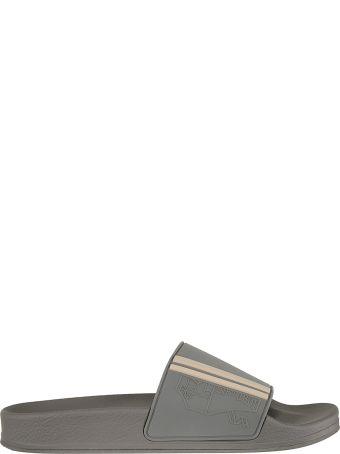 Brunello Cucinelli Striped Sliders