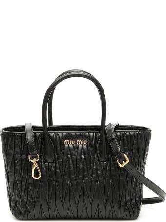 Miu Miu Matelasse Shopping Bag