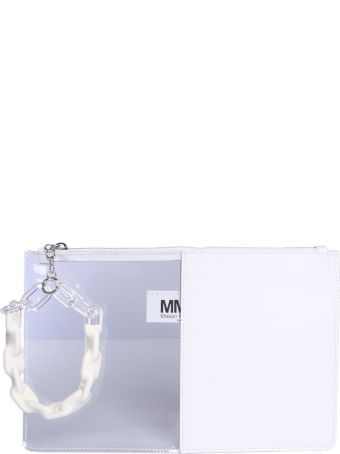 MM6 Maison Margiela Half-and-half Clutch