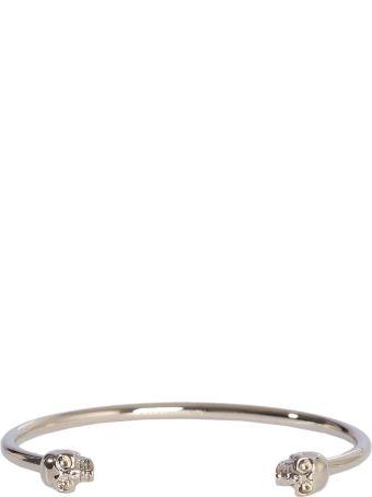 Alexander McQueen Thin Skull Bracelet