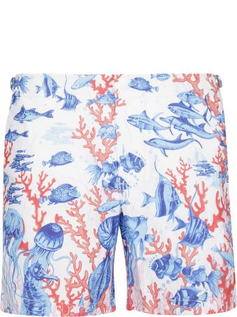 Orlebar Brown Under Sea Print Shorts