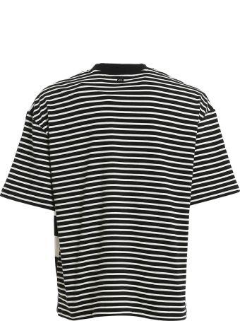 Ami Alexandre Mattiussi T-shirt Oversize Rayé