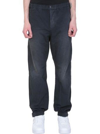 John Elliott Black Cotton Pants