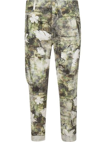 Mason's Floral Print Trousers