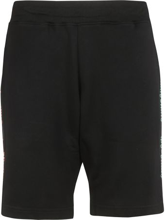 Moschino Side Logo Print Shorts