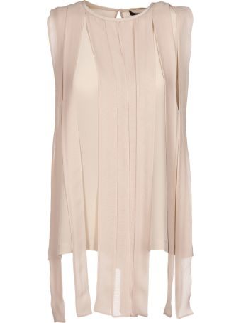 Max Mara Pianoforte Pleated Top