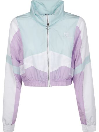 Sergio Tacchini Cropped Zip Training Jacket