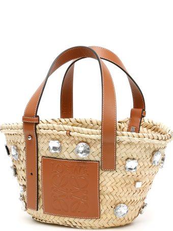 Loewe Stones Small Basket Bag