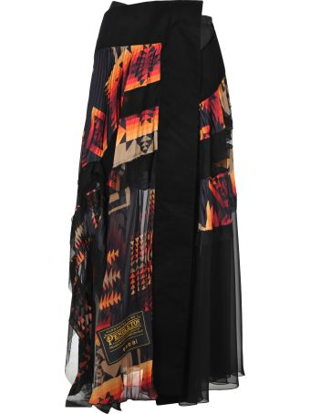Sacai Skirt Pendelton