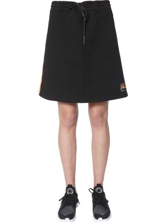 McQ Alexander McQueen Cotton Sweater Skirt
