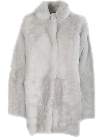 Unfleur White reversible sheepskin