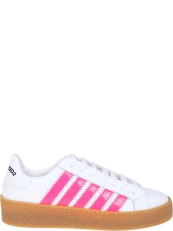 Dsquared2 Sneakers Rapper's Delight Color White / Fuchsia