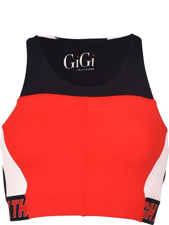 TommyXGiGi Speed Cropped Top
