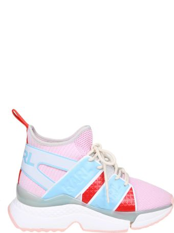 Karl Lagerfeld Sneakers In Fabric Color Pink