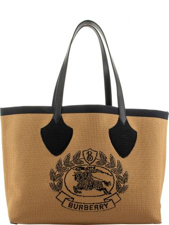 Burberry Knitted Archive Crest Tote