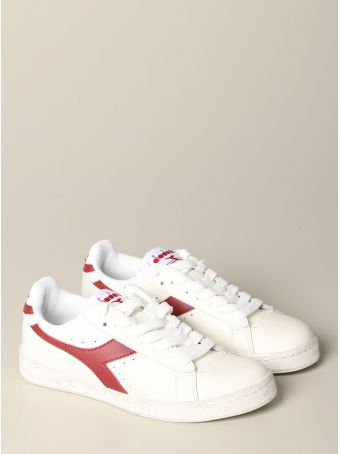 Diadora Sneakers Diadora Game L Low Waxed Sneakers In Textured Leather